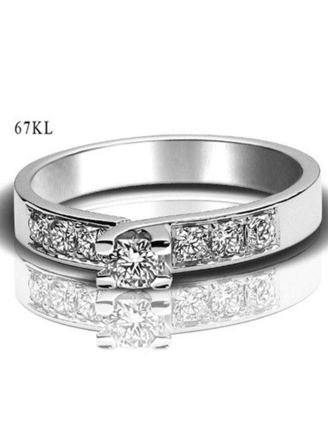 The Flanders Collection 67Kl 0.14+0.28Ct DEFSi1