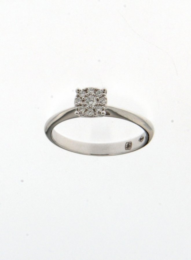 Ring 18kt 91JU35A2 0.18Ct