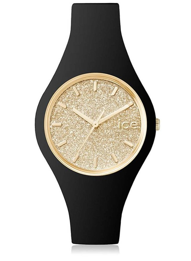 Ice Watch 001348 Ice Glitter Black Gold S