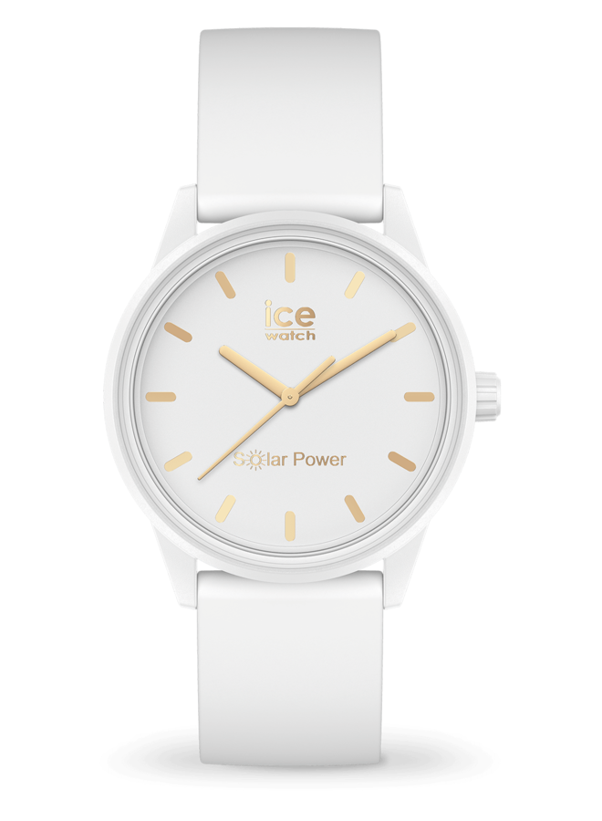 Ice Watch 018474 Ice Solar power White Gold S