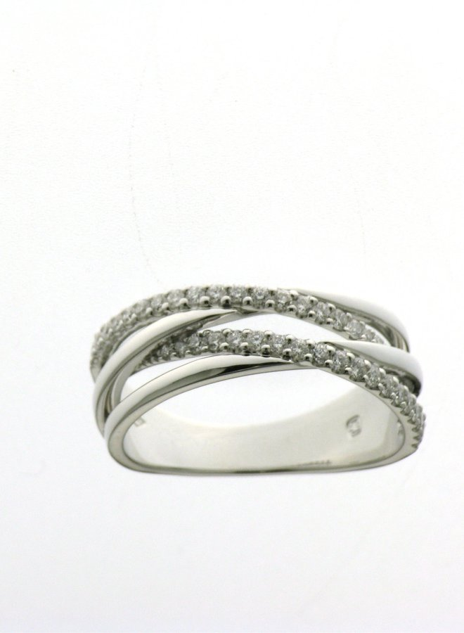Ring goud 18kt 055665/A 0.36Ct