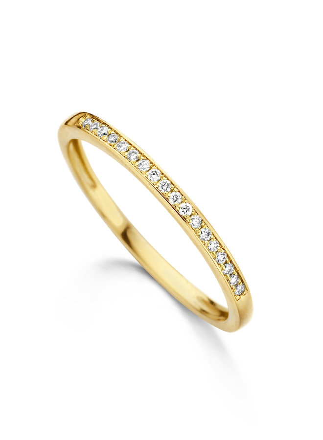 Ring goud 18kt 057087/A 0.07Ct