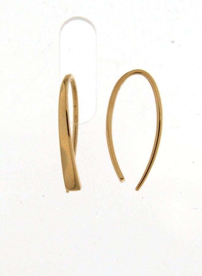 Oorbellen goud 18kt 062712