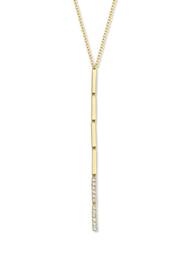 Ketting goud 18kt 063155/A 0.09Ct