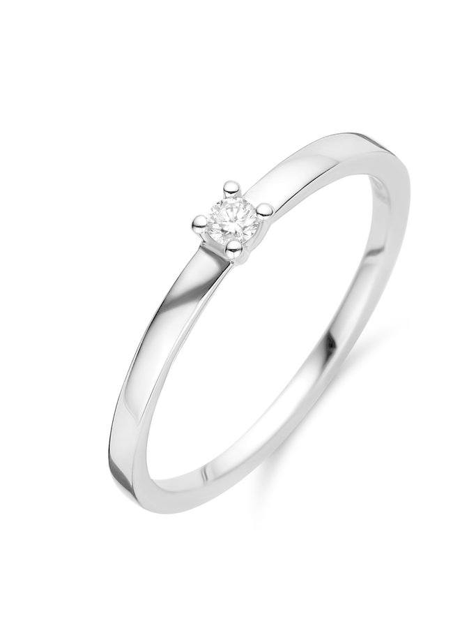 Ring goud 18kt 91EE34/A 0.14Ct