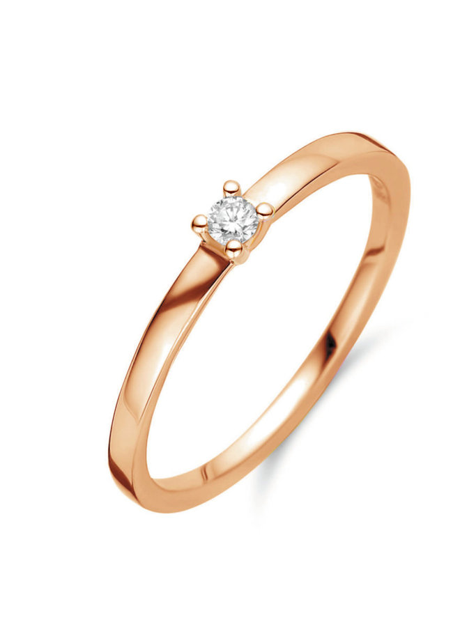 Ring goud 18kt 91FC32/A 0.11Ct
