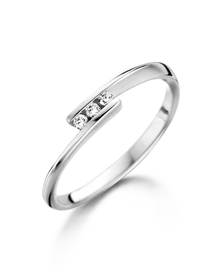Ring Goud 18kt  057439/A 0.06Ct