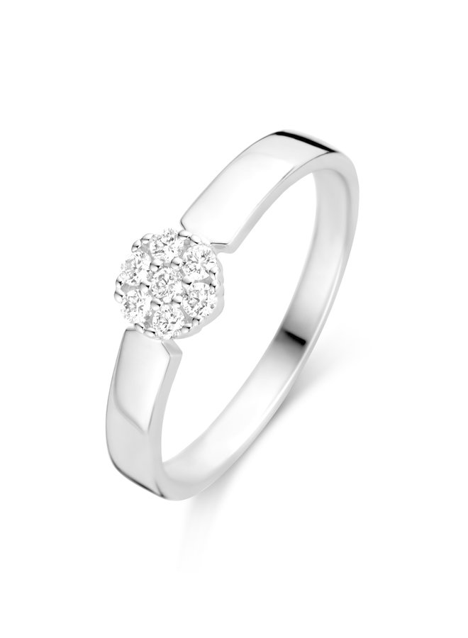 Ring Goud 18kt  062654/A 0.15Ct