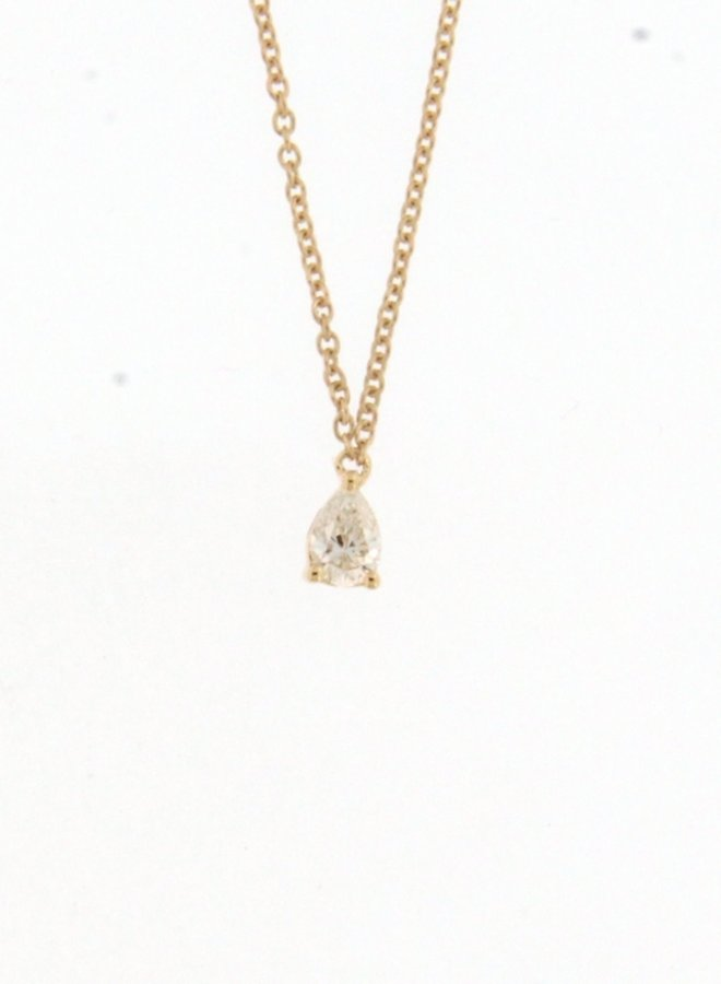 Ketting Goud 18kt 063874/A  0.15Ct