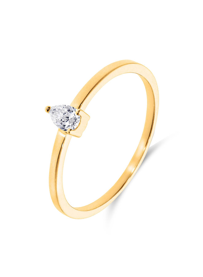 Ring Goud 18kt 063817/A  0.15Ct