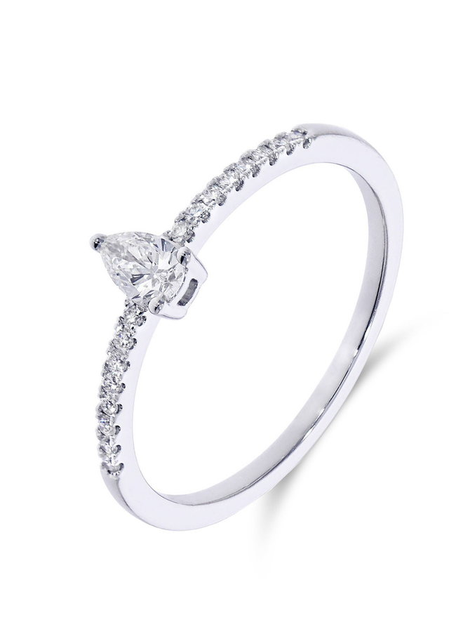 Ring Goud 18kt 063798/A  0.23Ct