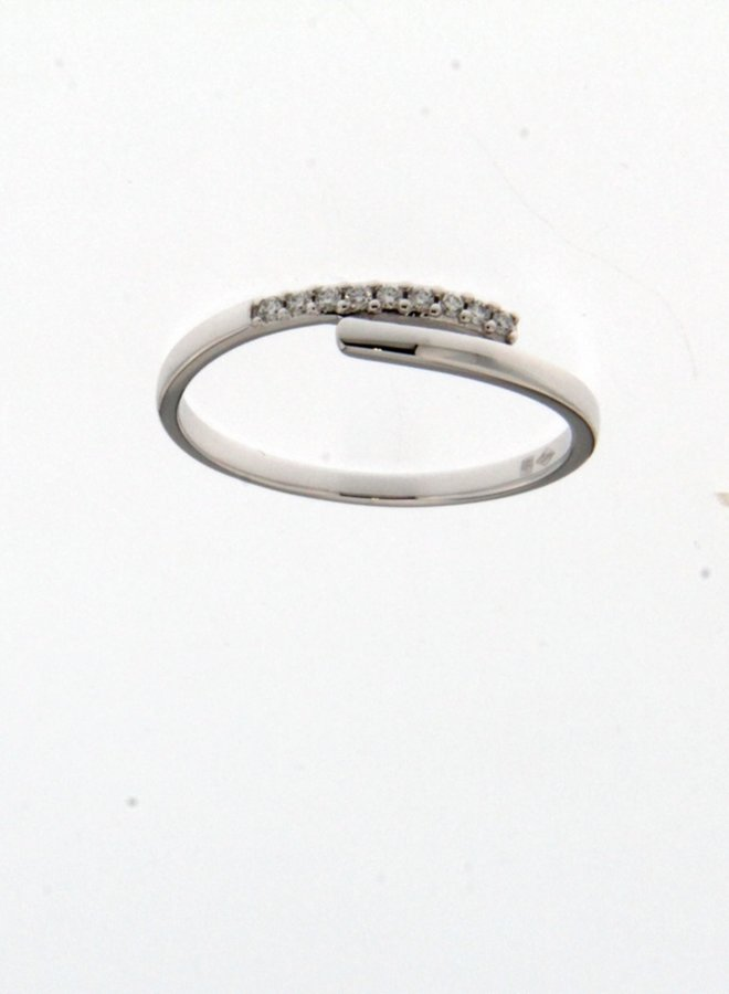 Ring Goud 18kt 061862/A 0.06Ct
