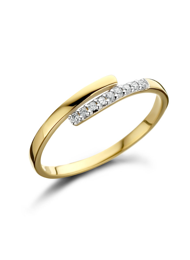 Ring Goud 18kt 061188/A 0.06Ct