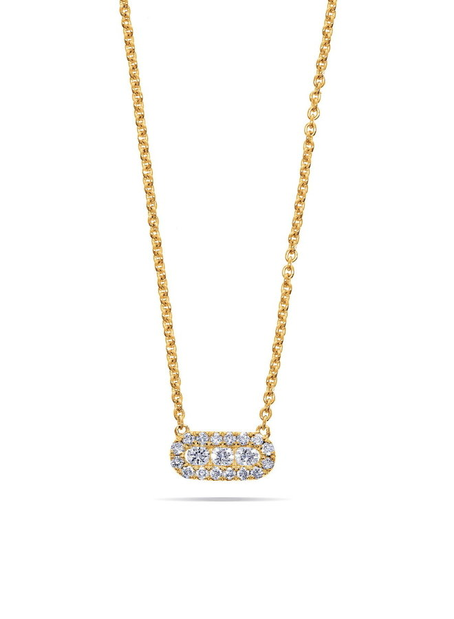 Ketting Goud 18kt 063678/A 0.16Ct