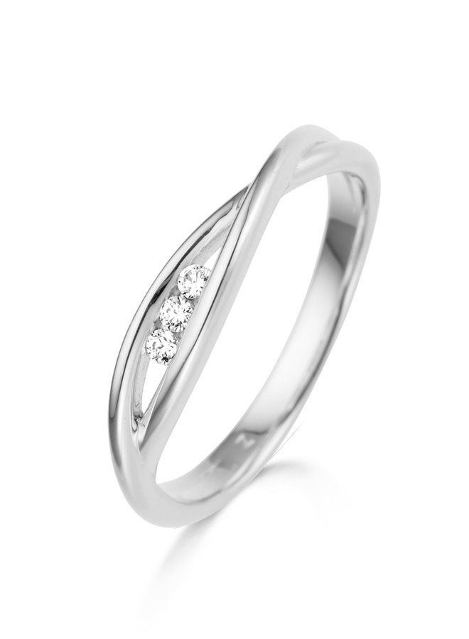 Ring Goud 18kt 063630/A 0.06Ct