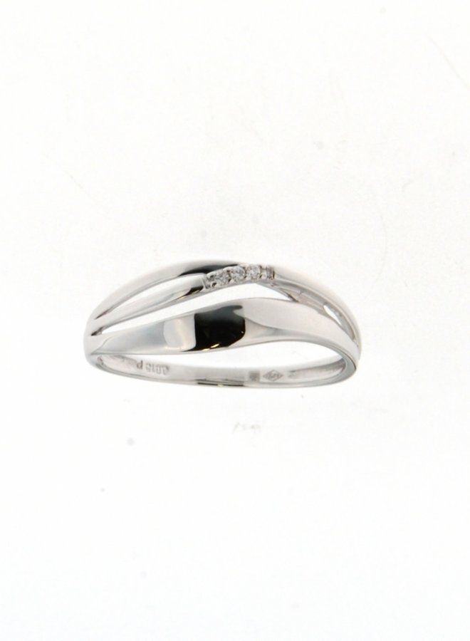 Ring Goud 18kt 063944/A  0.015Ct