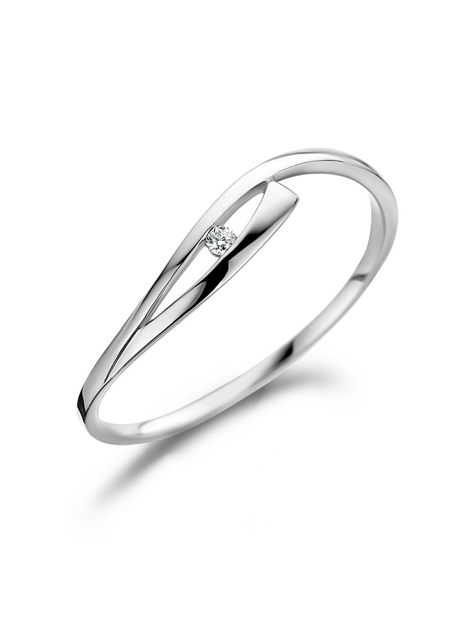 Ring Goud 18kt 061325/A 0.01Ct