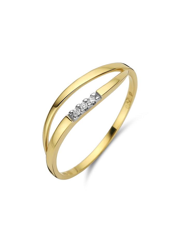 Ring goud 18kt 060776