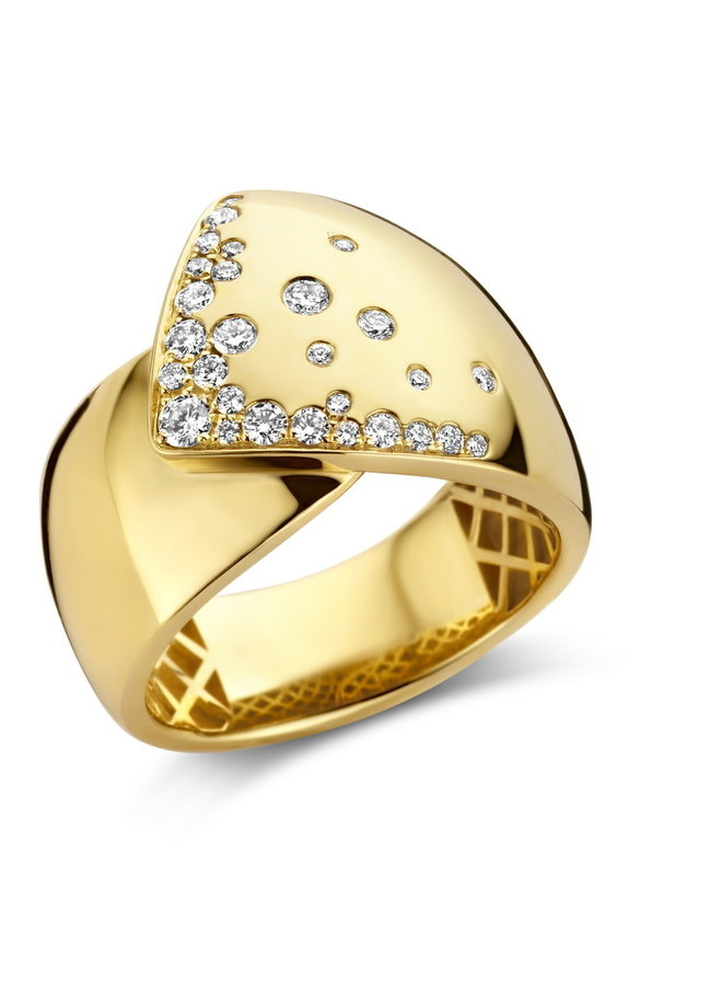 Ring goud 18kt 062380/A 0.37Ct