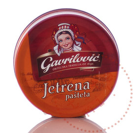 Gavrilovic Gavrilovic Pâté   Pâté de foie Jetrena Pasteta   100G