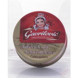 Gavrilovic Gavrilovic   Pâté de foie Cajna Pasteta   100G