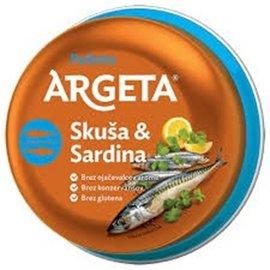 Argeta Argeta   Maquereau & Sardine   Pate 95G