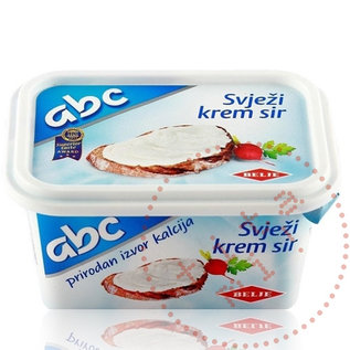 Belje ABC Svjezi Krem Sir |  Fromage à la crème Belje  | 200G