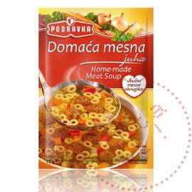 Podravka Domaca Mesna | Zelfgemaakte Vleessoep | 70G