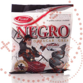 Pionir Negro Sweets   Throat Pastilles   100G