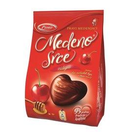 Pionir Medeno Srce visnja | Cherry hearts | Cherry hearts with honey | 350G