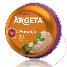 Argeta Argeta | Puranja Turkey | Pâté 95G