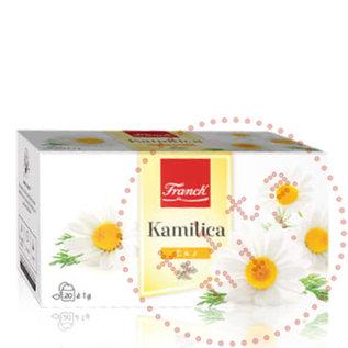 Franck Franck Kamilica   Chamomile Tea   20X1.0G