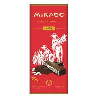 Mikado Chocolade | Rijst | 75G