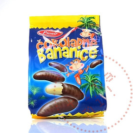 Pionir Cokoladne Bananice | Chocolade Banaantjes | Pionir | 150G