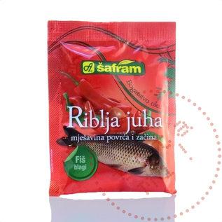 Zacin Za Riblju Corbu | Mélange à soupe de poisson doux | Safram 90G