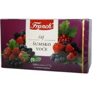 Gavrilovic Franck Sumsko voce | Thé aux fruits des bois | 20X2.75G