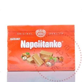 Napolitanke Kekse | Haselnusswaffeln Rot | 330G