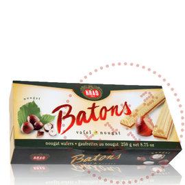 Kras Batons nougat wafers | Wafeltjes Kras | 250G
