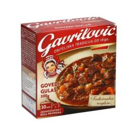 Gavrilovic Govedji Gulas   Boeuf Goulash   300 GRAMMES