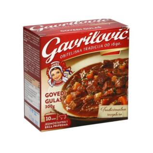 Gavrilovic Govedji Gulas   Rindergulasch   300 G