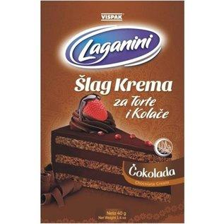Laganini Slagroom Chocola | Slag Krema Cokolada Laganini | 60G