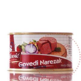 Gavrilovic   Rundvleesstukjes   Govedi Narezak / 150G