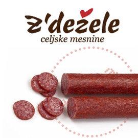 Zdezele Cajna kobasica Z'Dezele   Saucisse au thé   560G