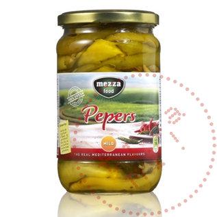 Mezza Pepers / Fafaroni | Mild Mezza | 720ML