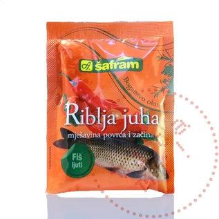 Zacin za riblju corbu   Fischsuppenmischung Spicy   90G