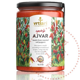 Vrtlari Ajvar Spicy | 100% natürlich | 350G