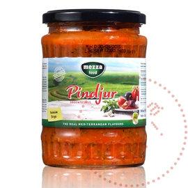 Mezza Sauce aux légumes Pindjur | Mezza épicé | 580ML