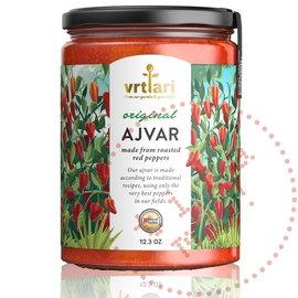 Vrtlari Ajvar Mild | 100% natürliches Ajvar Original | 350G