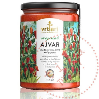 Vrtlari Ajvar Mild   100% Natural Ajvar Original   350G