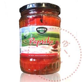 Mezza Gegrilde Rode Paprika's | Mezza | 580ML